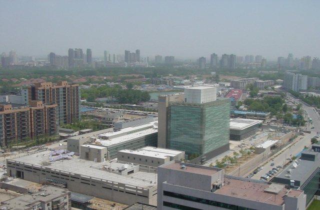 美國駐華大使館外觀。 圖/取自維基