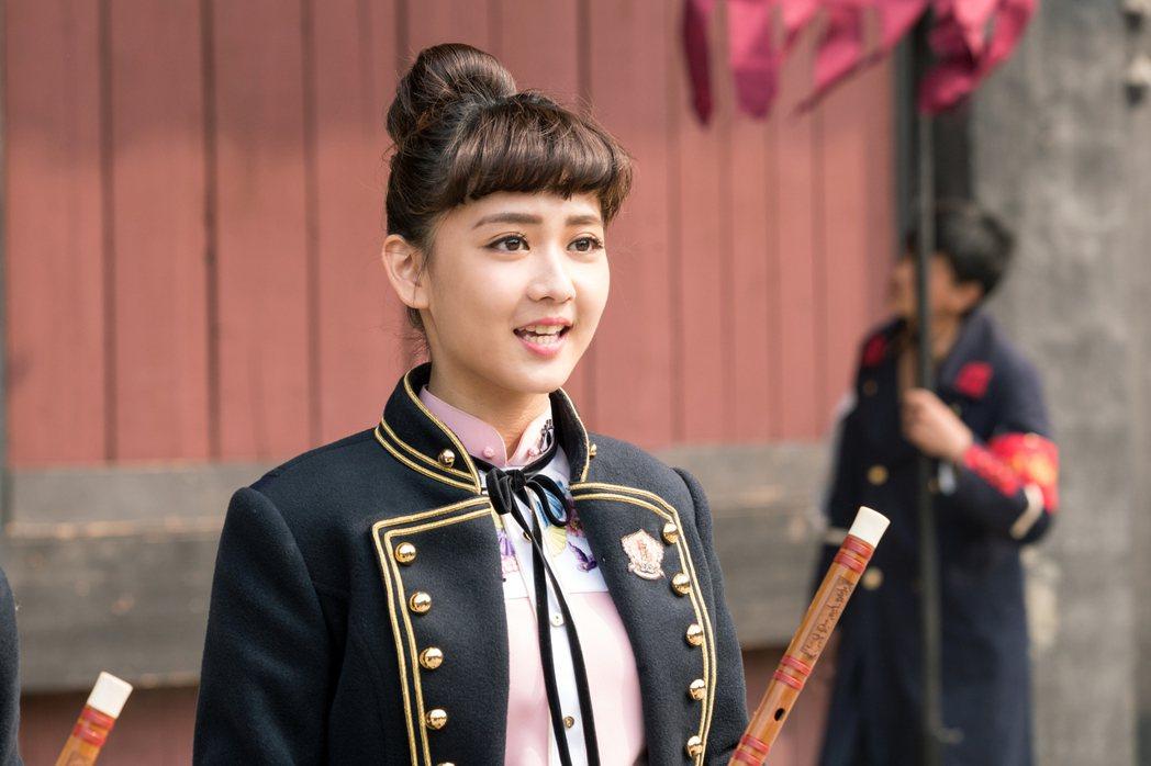 鍾羽在「終極三國」中飾演小喬。圖/可米提供