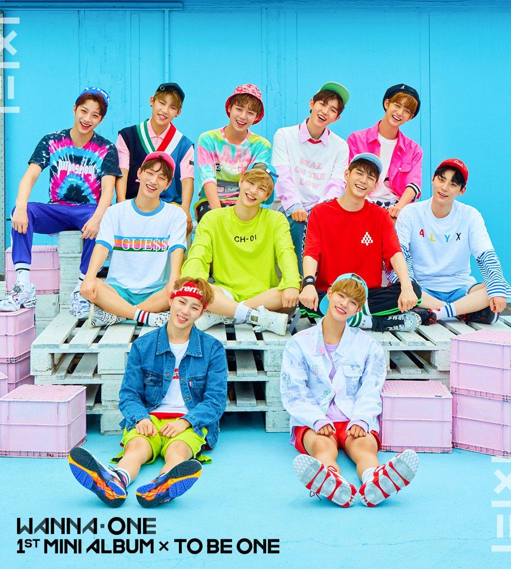 WANNA ONE成為韓國時下最夯的偶像團體。圖/華納唱片提供