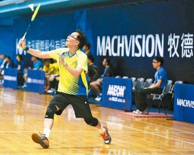 牧德科技董事長汪光夏是羽球愛好者,辦比賽以球會友。