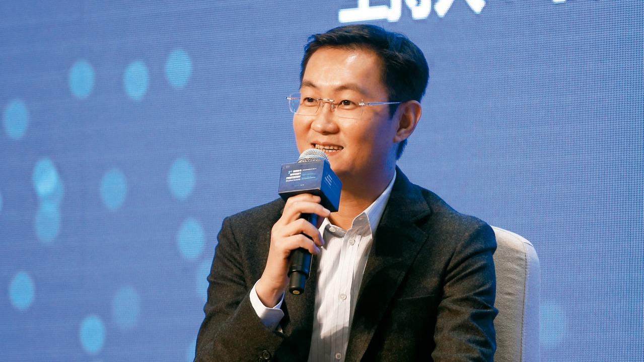 騰訊公司董事局主席兼CEO馬化騰。 圖/中新社