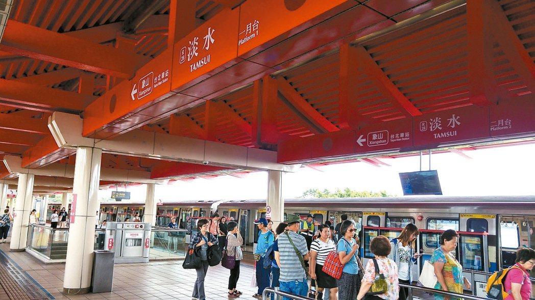 台北捷運將進入全面無線網路時代。 本報系資料庫