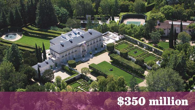 今年5月過世的億萬富豪企業家Jerrold Perenchio位於洛杉磯縣Bel...