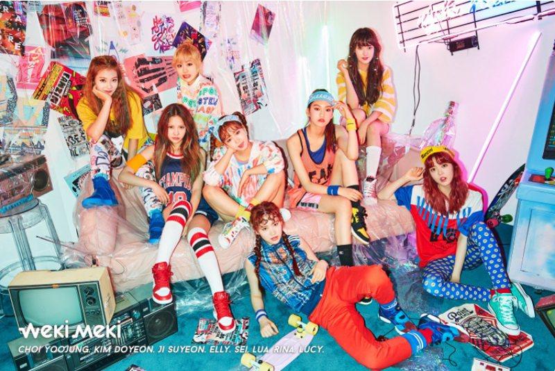 南韓8人組女團Weki Meki正式出道。 圖片來源/「soompi.com」網