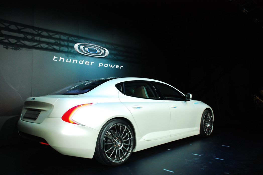 Thunder Power Sedan。記者林昱丞/攝影