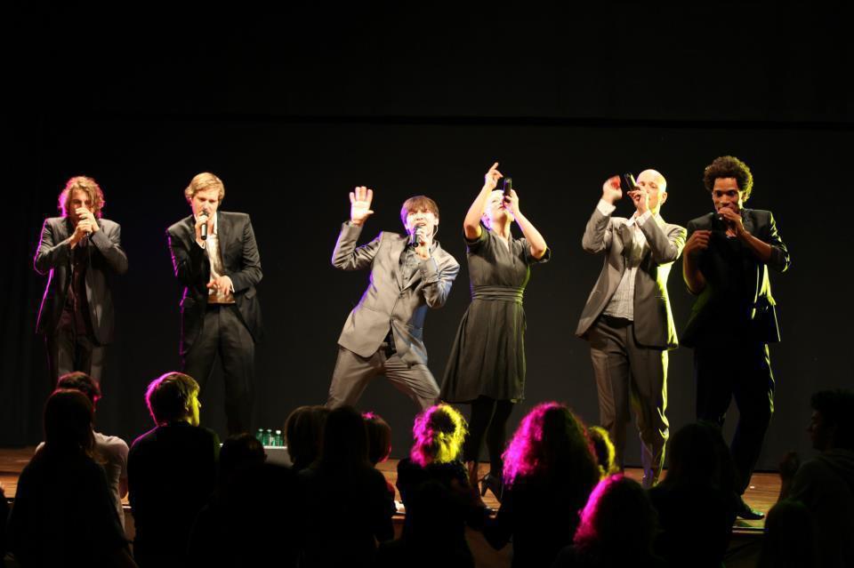 德國SLIXS十月國家音樂廳演出阿卡貝拉音樂劇《人聲病毒Vocal Virus》...