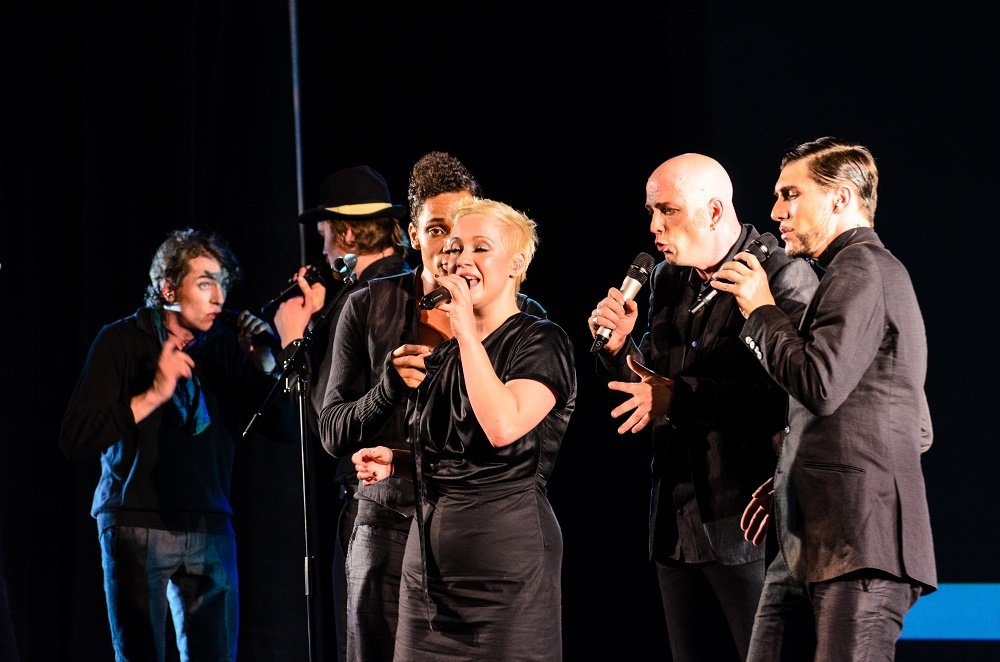 德國SLIXS睽違五年再度抵台,獨創阿卡貝拉音樂劇。圖/聯合數位文創 提供