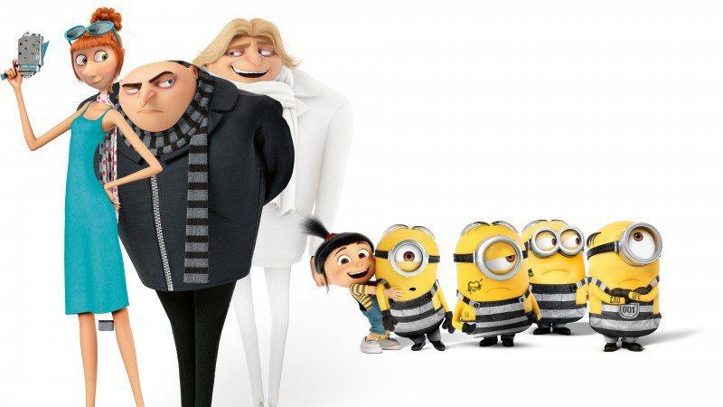 「神偷奶爸」系列成為「全球最賣座動畫系列」新霸主。圖/摘自imdb