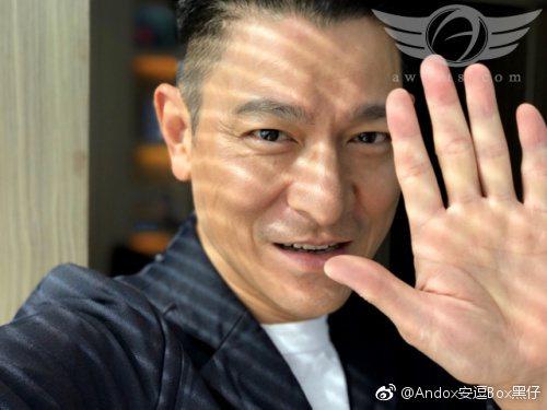 劉德華談受傷期間「每天都為自己的明天運動」。圖/擷自微博