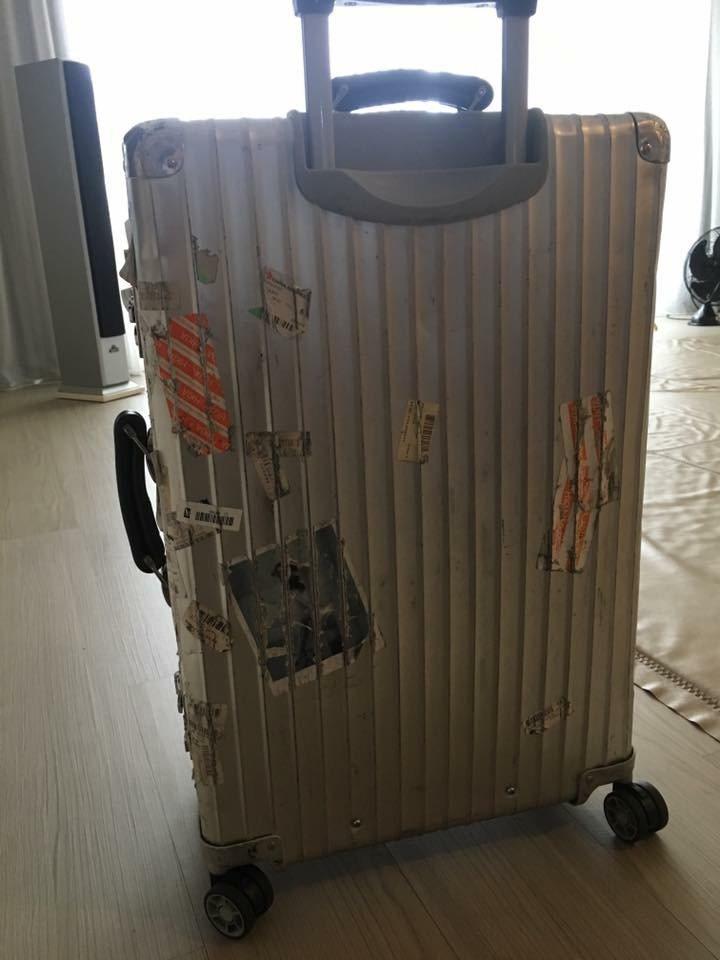 經一日奇航,彭佳慧行李回來了。圖/摘自彭佳慧臉書