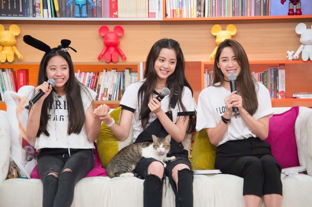 歐陽家三姊妹上TVBS「小燕有約」。圖/TVBS提供