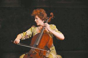 大提琴女神瓦列芙斯卡十二月來台。 圖/聯合數位文創提供