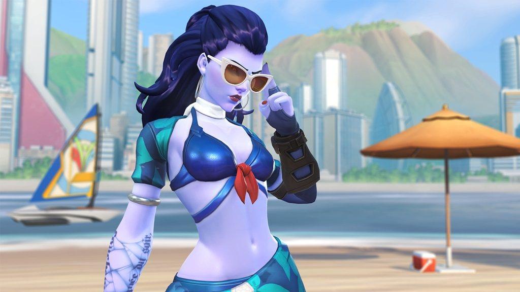 蔚藍海岸的奪命女造型,讓玩家感受法國的炎夏氛圍