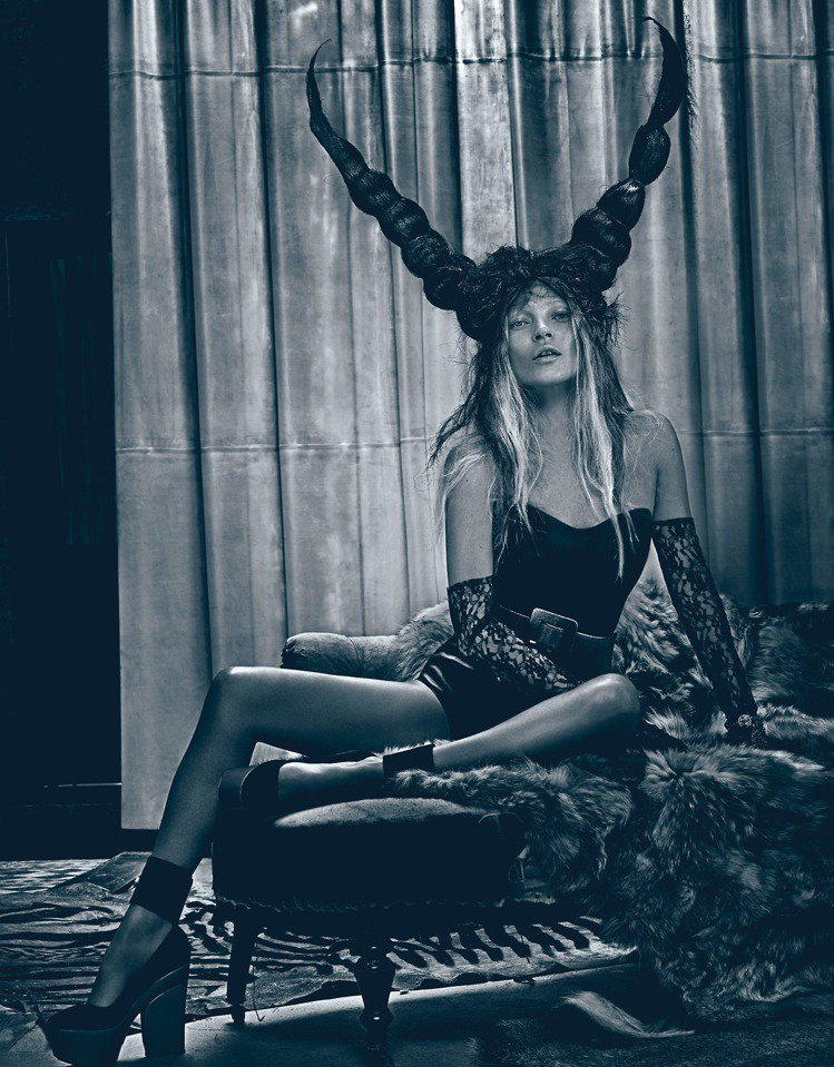 超模Kate Moss。圖/擷自instagram