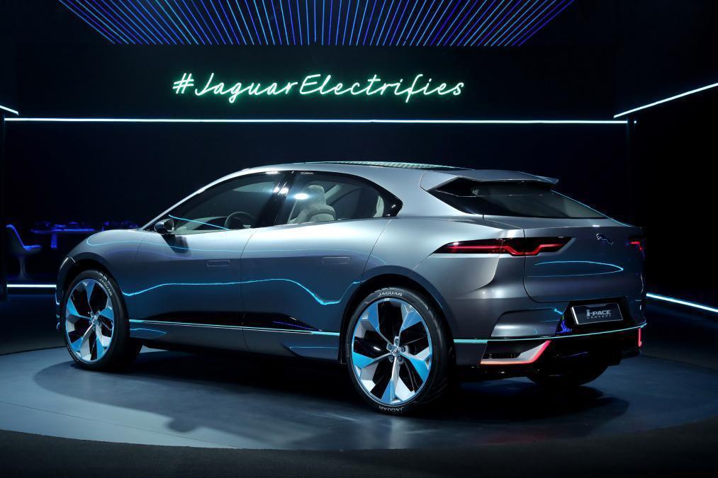 Jaguar I-Pace Concept很有可能就是未來正式登場的量產版本。 ...