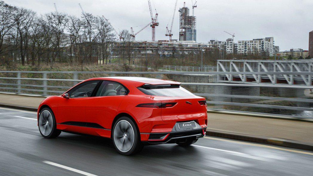 圖為Jaguar I-Pace Concept。 摘自Jaguar