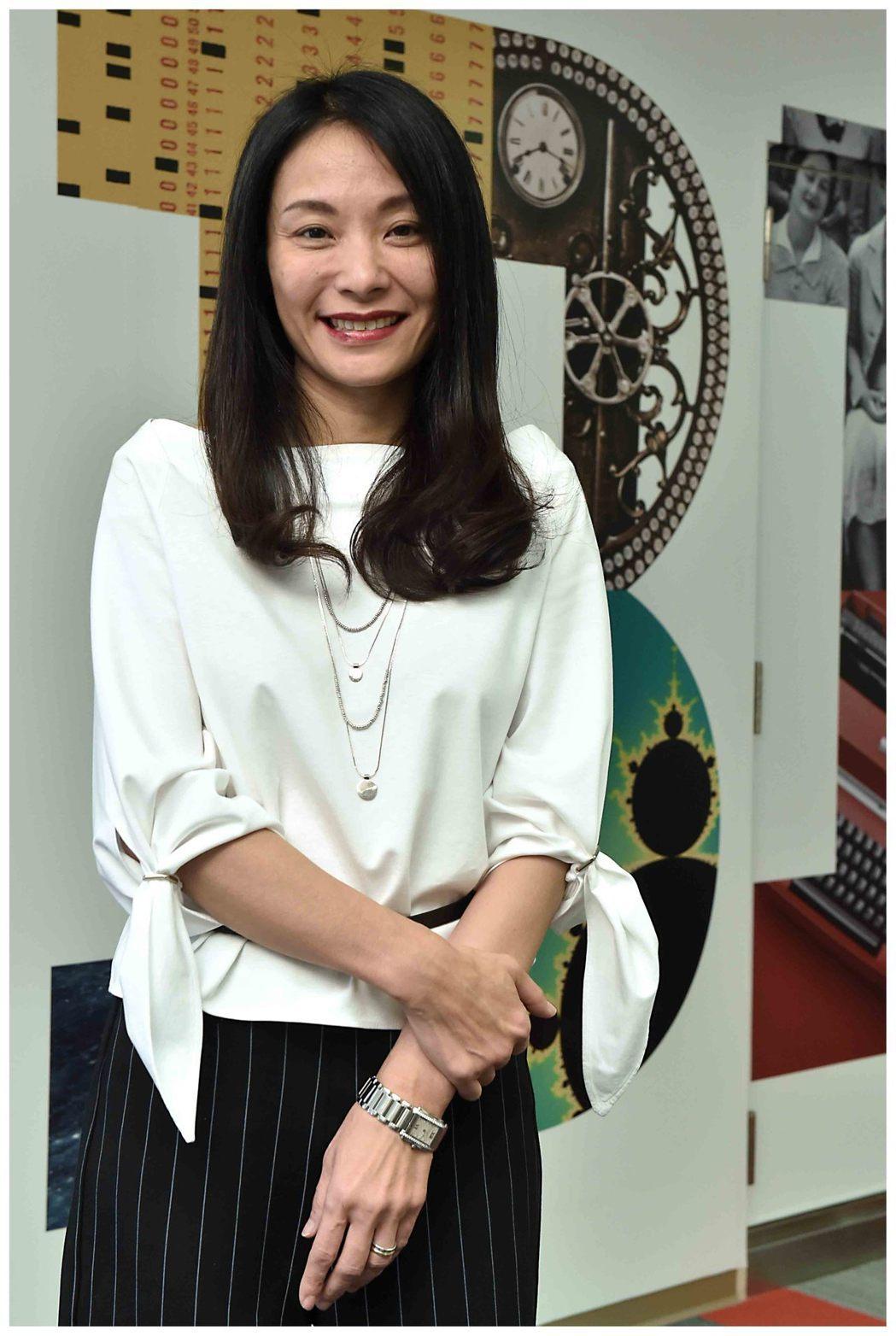 台灣IBM新上任總經理高璐華。 IBM/提供