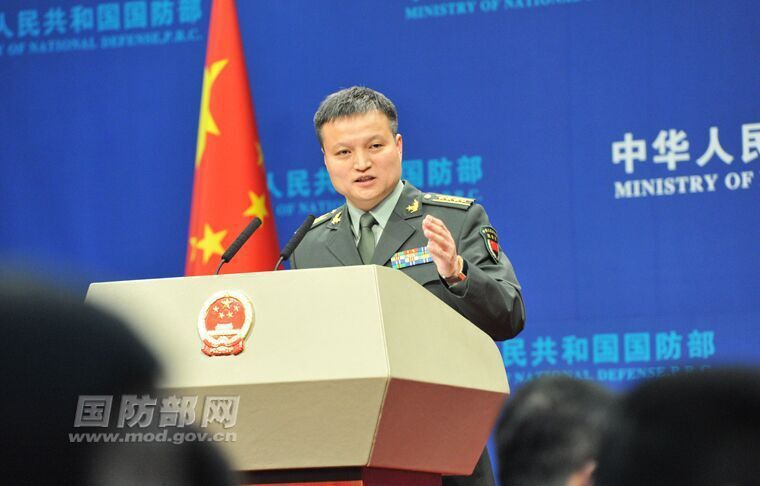 大陸國防部前發言人楊宇軍。 圖/摘自大陸國防部官網