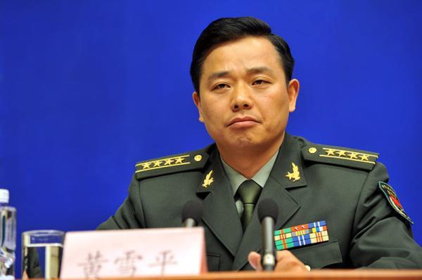 大陸國防部前發言人黃雪平。 圖/摘自澎湃新闻