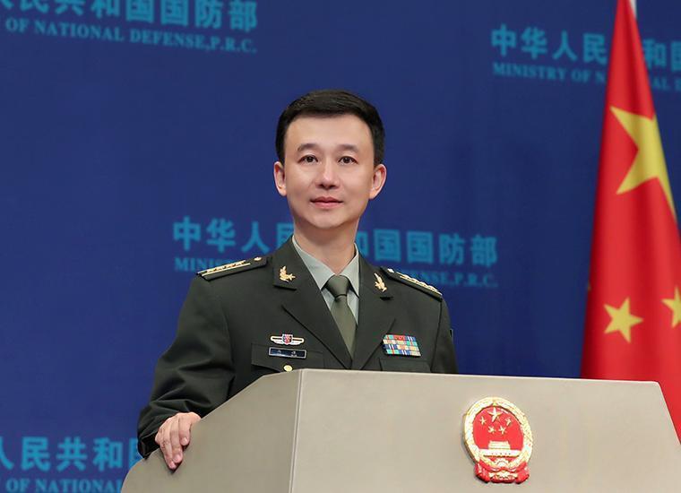 新任大陸國防部新聞局長吳謙大校。 圖/摘自大陸國防部官網