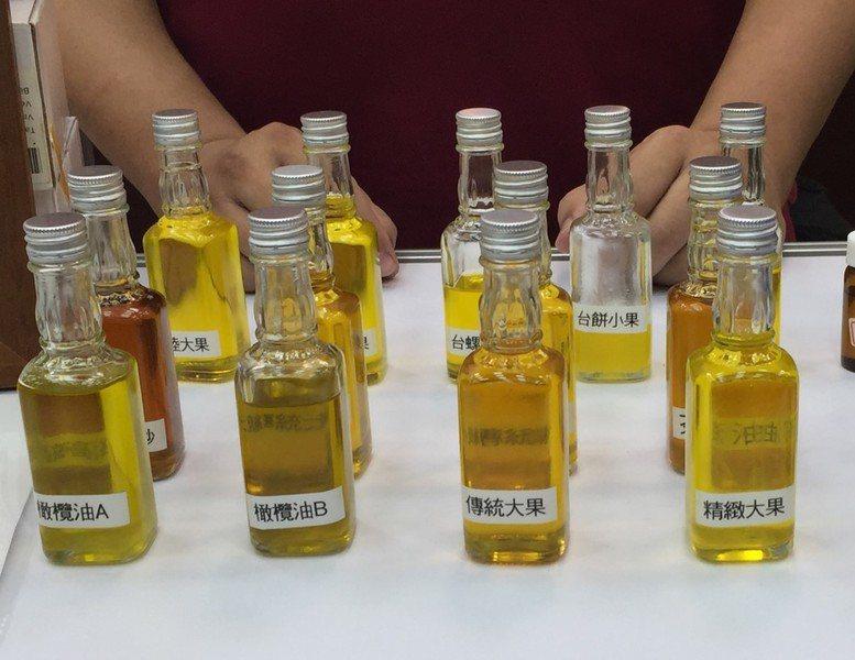 市面上販售油品良莠不齊,品油師陳俊良教大家如何挑選好油。(photo by 楊蕓...