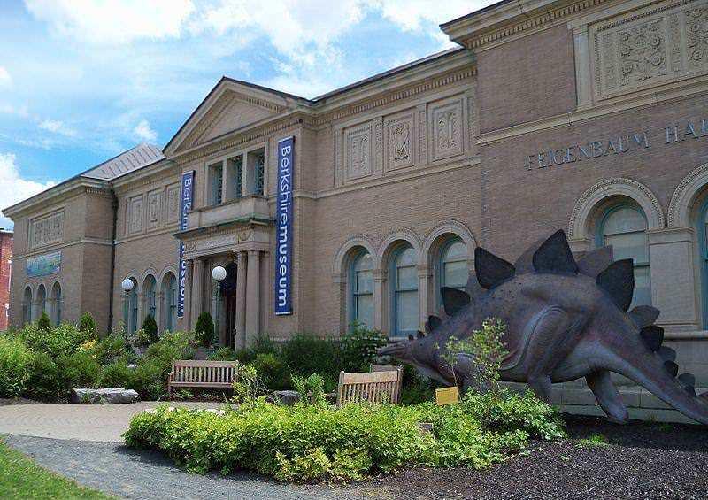 柏克希爾博物館外觀。圖/取自Wikimedia 。
