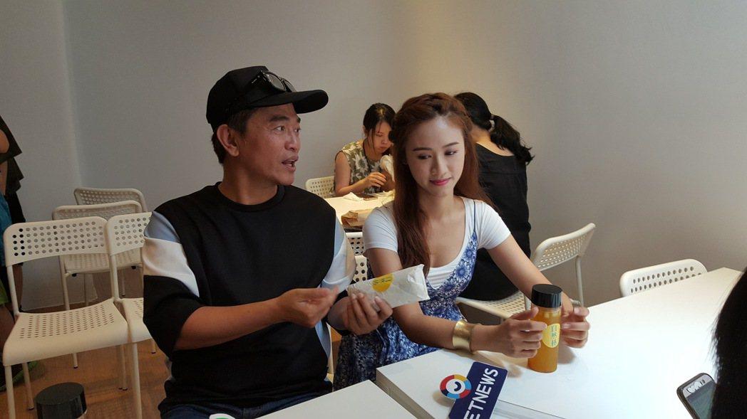 吳宗憲和女兒再開一家早午餐店。記者林怡秀/攝影