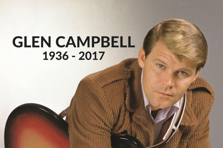 外電報導,美國重量級傳奇鄉村歌手葛倫坎伯(Glen Campbell)在多年飽受阿茲海默症折磨之後,已經於8日病逝田納西州納須維爾家中,享壽81歲。葛倫坎伯曾是6度葛萊美獎得主,代表作包括「Rhin...