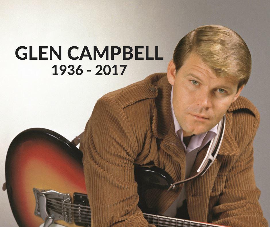 美國重量級傳奇鄉村歌手葛倫坎伯8日病逝,享壽81歲。圖/擷自臉書