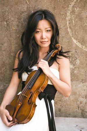 華裔天才小提琴家侯以嘉首次來台。 圖/聯合數位文創提供