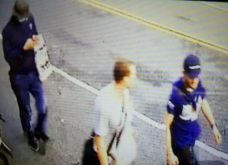 一銀盜領案剩餘贓款五百餘萬元,可能被車手分贓在機場兌換出關,圖為一銀盜領車手在台...