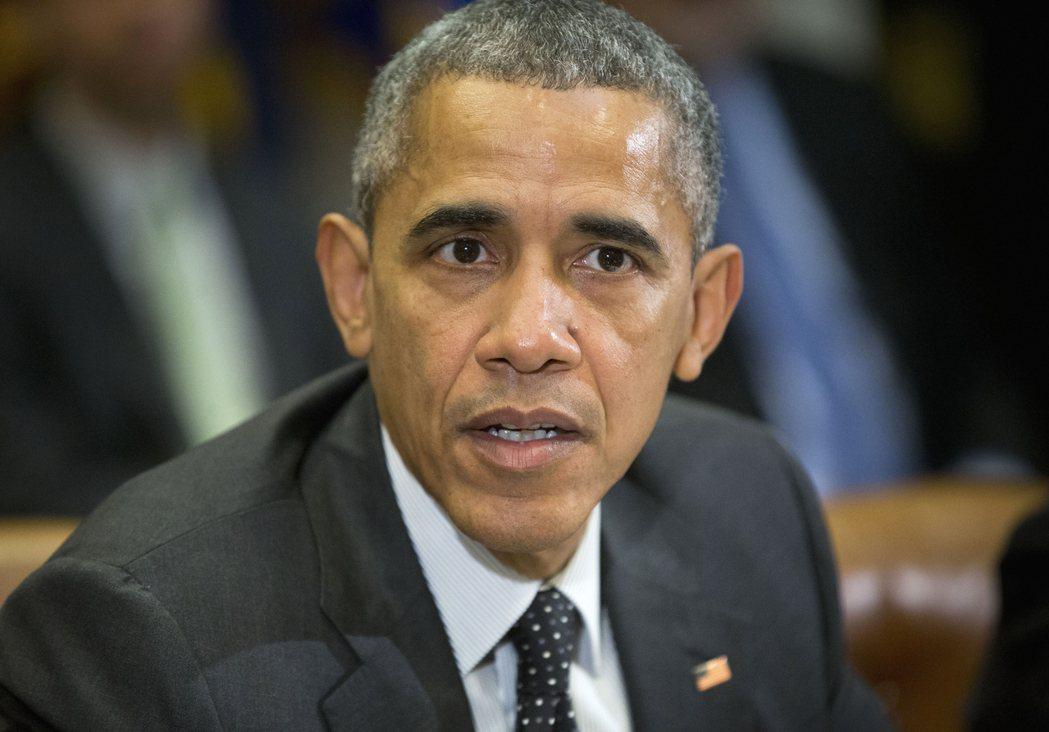 美國前總統歐巴馬。 美聯社資料照