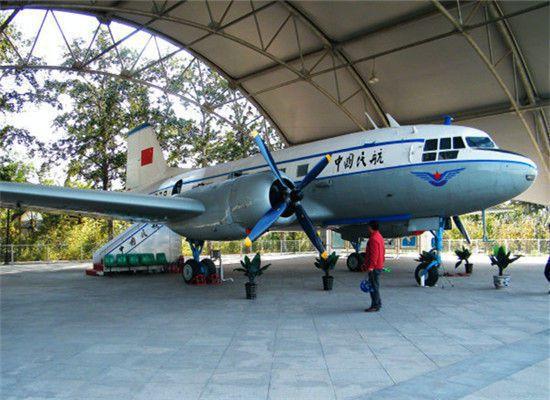 蘇聯贈送的伊爾-14型678號專機。 圖/摘自新浪網