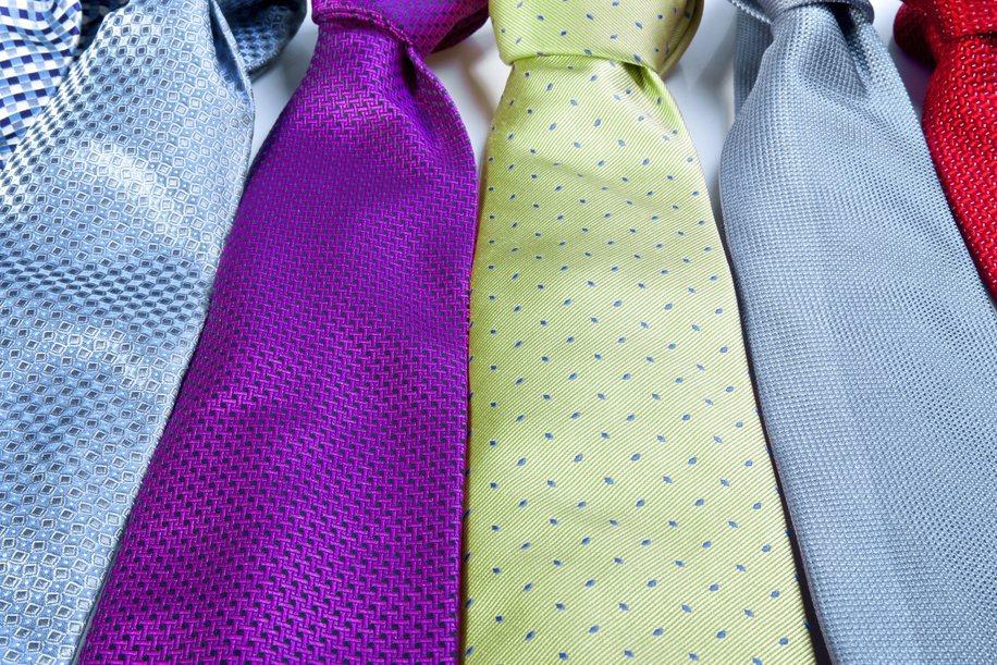 領帶打法十分多種。圖/ingimage
