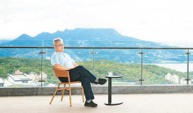 和築開發總經理吳森基。 記者林伯東/攝影
