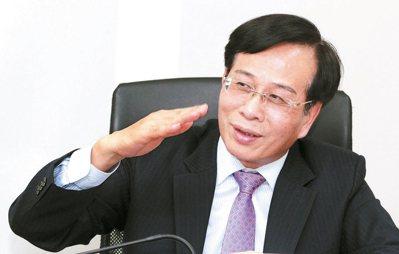 合庫銀董事長廖燦昌。 本報系資料庫