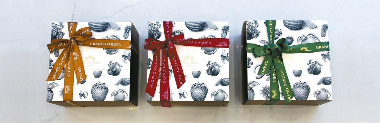 尚奇水果禮盒風格簡約、富設計感。 圖/尚奇水果提供