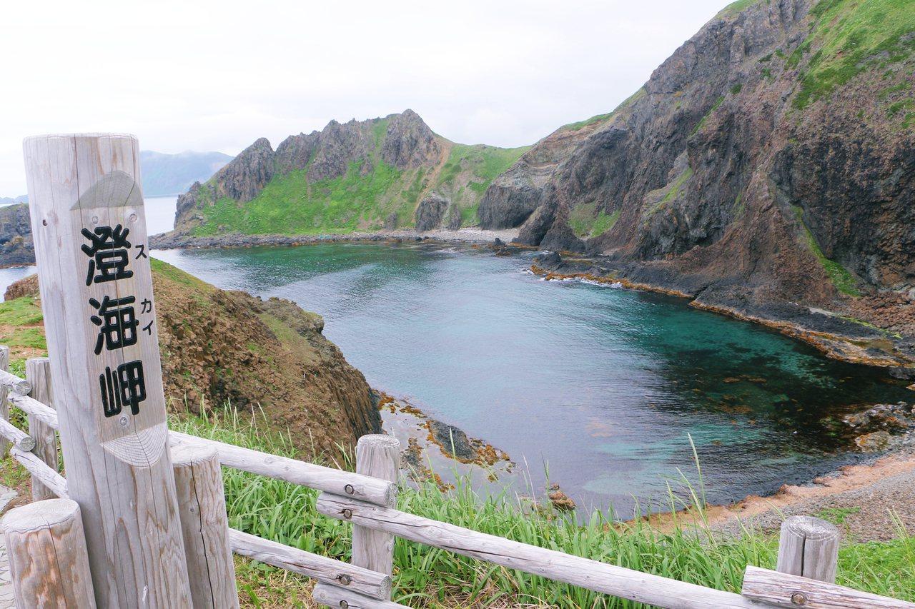 澄海海角水質清透。