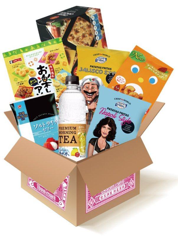 ibon mart獨家推出福祿壽零食福箱。