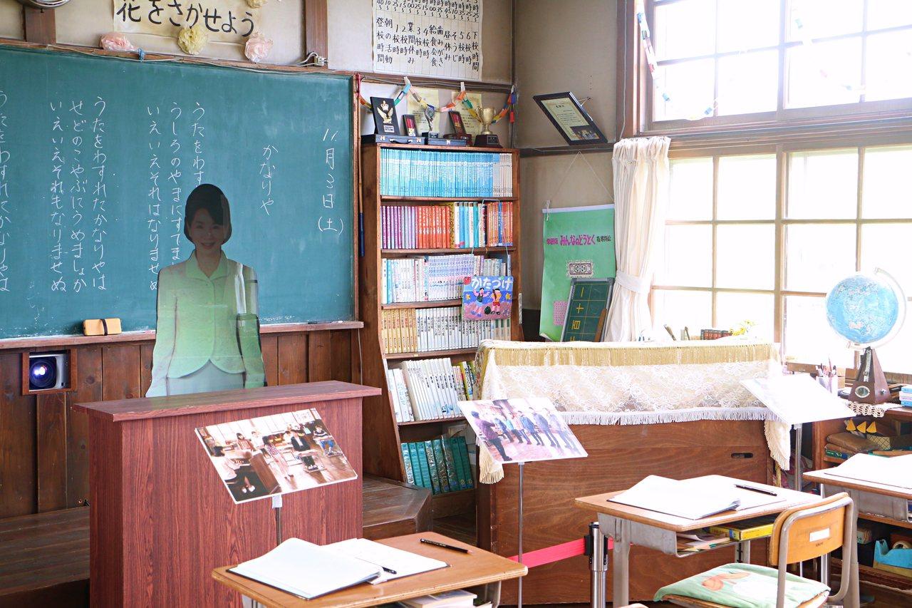 麗端小學是為了拍攝電影而搭建的場景。