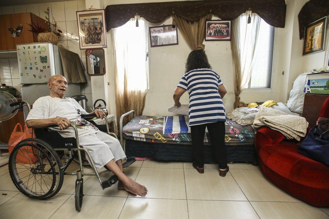 衛福部表示,長照2.0將給家庭照顧者更多支持及喘息服務。記者楊萬雲/攝影