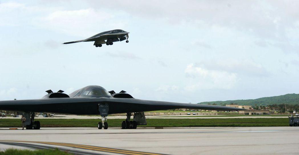 B-2轟炸機。 路透