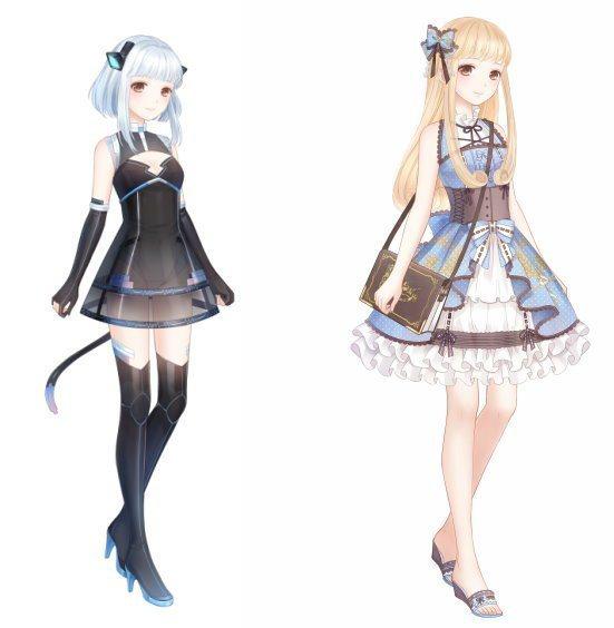 聯盟第6章將帶來黑卡的兩套裝扮「廢墟黑貓」、「冰藍古典夢」。