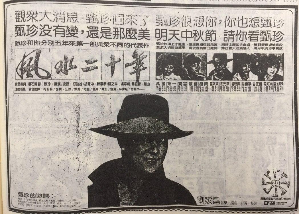 圖/翻攝自民國72年自立晚報