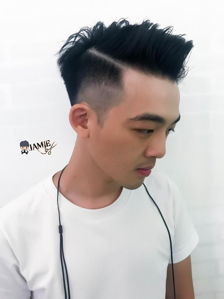 髮型創作/西門Jamie Hair - 西門捷米Jamie。圖/HairMap美...