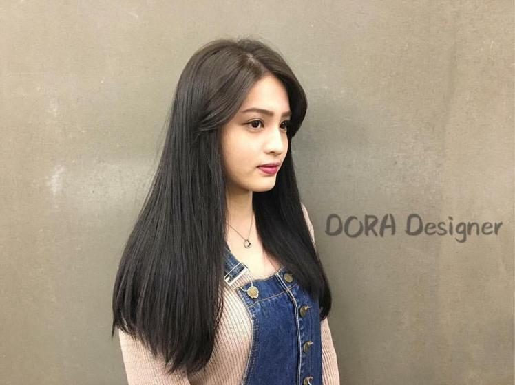髮型創作/ VSALON - Dora。圖/HairMap美髮地圖提供