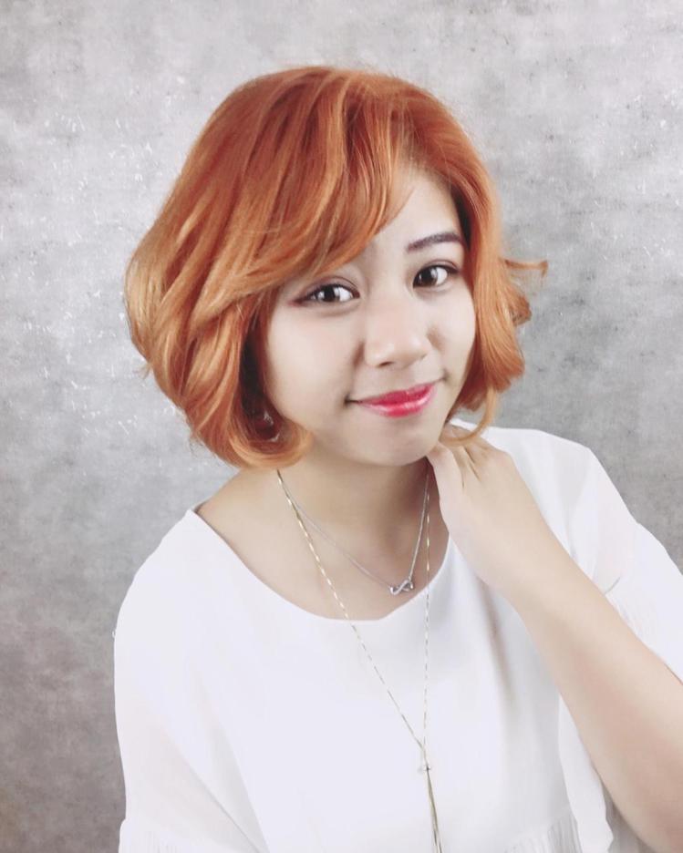髮型創作/ 丰韻髮型美妍沙龍 - 微心。圖/HairMap美髮地圖提供