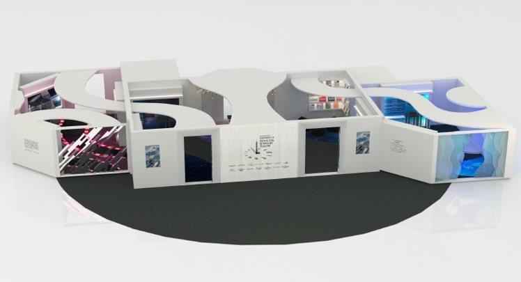 台北101購物中心舉辦的第5屆頂級珠寶腕表大賞,將分為三區展出獨家及話題腕表。圖...