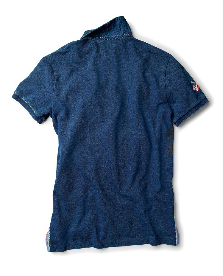 Elk Ridge限量Polo衫(反面),售價9,080元。圖/Polo Ral...