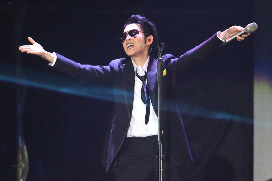 劉若英在小巨蛋開唱。記者陳瑞源/攝影